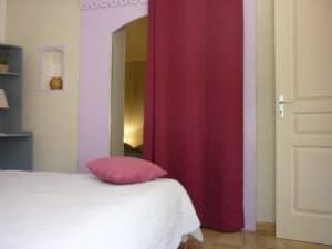 Gite - Chambre 1 et 2 - Entre Vignes et Oliviers - Cévennes Gard