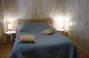 Chambre 2 lit double - Entre Vignes et Oliviers - Cévennes Gard