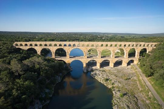 Pont du Gard - Tourisme Gite Roulotte Entre Vignes et Oliviers - Cévennes Gard