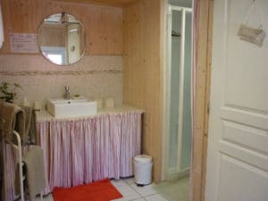 Gite - salle de bains - Entre Vignes et Oliviers - Cévennes Gard
