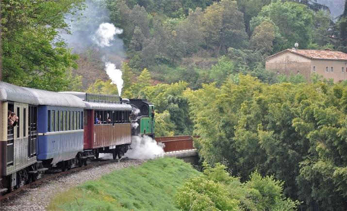 Train vapeur des Cévennes - TourismeEntre Vignes et Oliviers - Gard