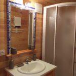 miroir salle de bains roulotte - Entre vignes et oliviers - cevennes - gard